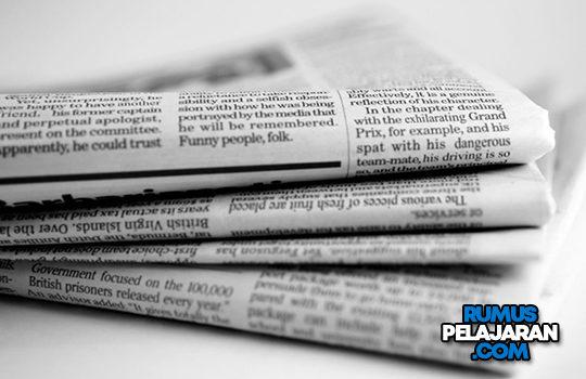 Pengertian Teks Editorial, Definisi Opini Jenis Fungsi Ciri Struktur Kaidah dan Contoh Tajuk Rencana