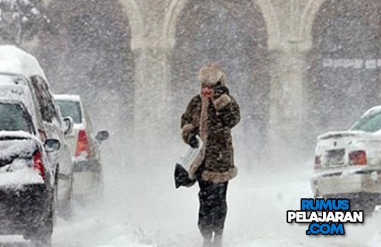 Manfaat Hujan Salju