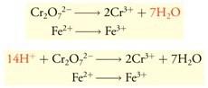 Menyetarakan Atom O dengan H2O(l) dan Atom H dengan H+(aq)