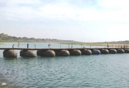 Penerapan Hukum Archimedes Jembatan Poton