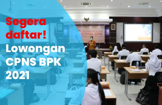 Lowongan CPNS BPK 2021